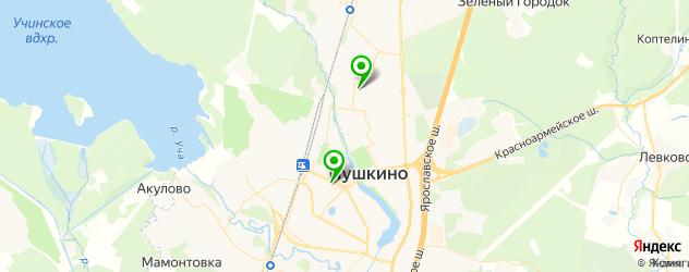 пирсинги салон на карте Пушкино