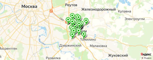 мебельные мастерские на карте Люберец