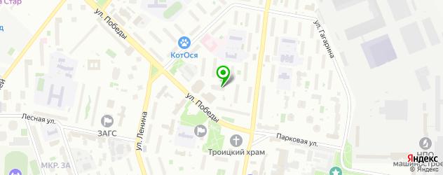 академии на карте Реутова