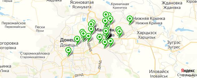 Развлечения на карте Макіївка