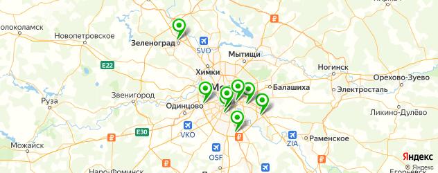 керамические мастерские на карте Москвы