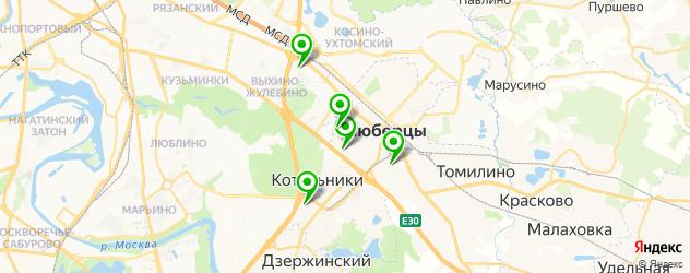 мотосалоны на карте Люберец