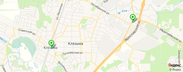 вегетарианские кафе на карте Пушкино