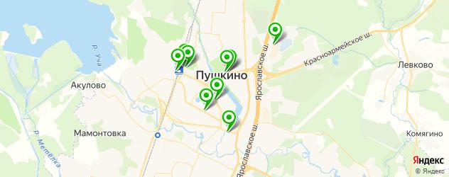 изготовления ключей на карте Пушкино