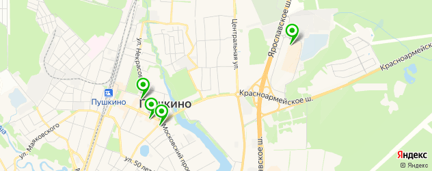ювелирные мастерские на карте Пушкино