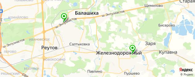 официальные дилеры Хендай на карте Балашихи