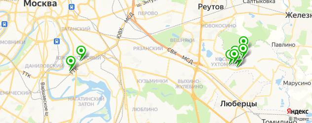наращивание волос на карте Кожухово