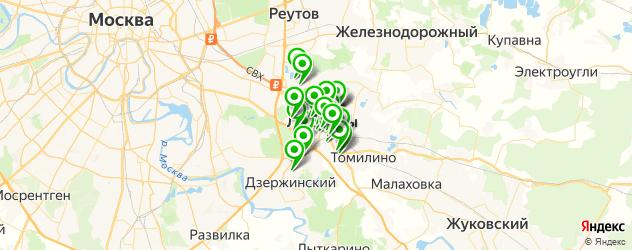 типографии на карте Люберец