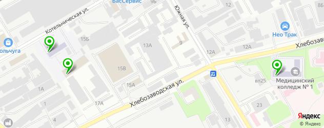 колледжи на карте Люберец
