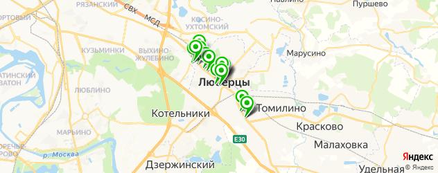 стоматология на карте Октябрьского проспекта