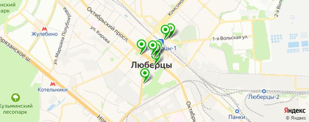 компьютерные помощи на карте Смирновской улицы