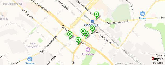 ремонт техники и устройств на карте Смирновской улицы