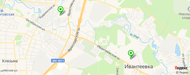университеты на карте Пушкино