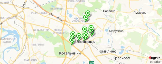 терапевтическое отделение на карте Люберец