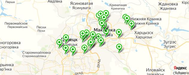 автосервисы на карте Макіївка