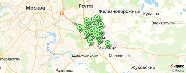компьютерные помощи на карте Люберец