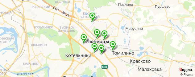 авторазборки на карте Люберец