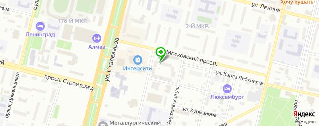 сервисные центры на карте Череповца