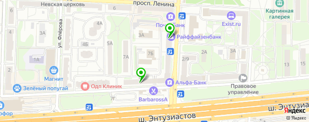 банкоматы с долларами на карте Балашихи