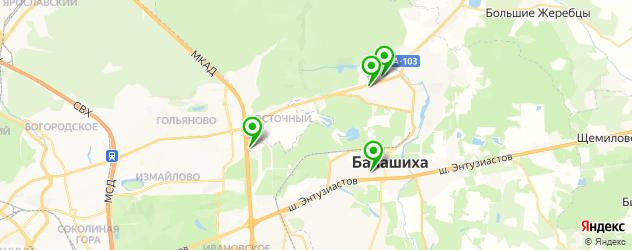 тюнинги ателье на карте Балашихи