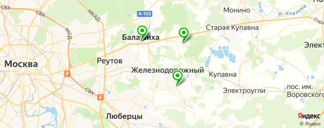 СПА отель на карте Балашихи