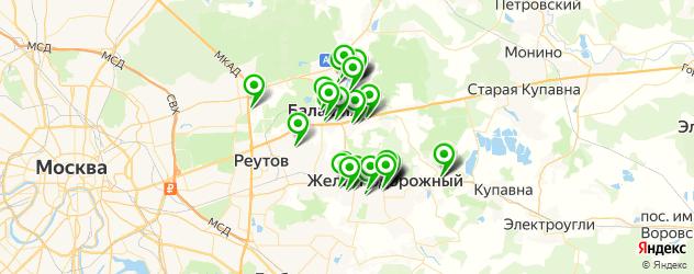 фото на документы на карте Балашихи