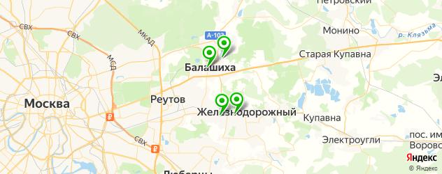 свадебные агентства на карте Балашихи