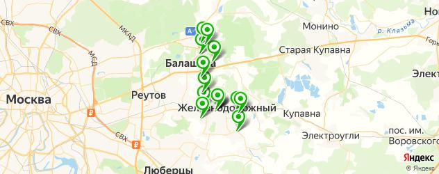 караоке на карте Балашихи