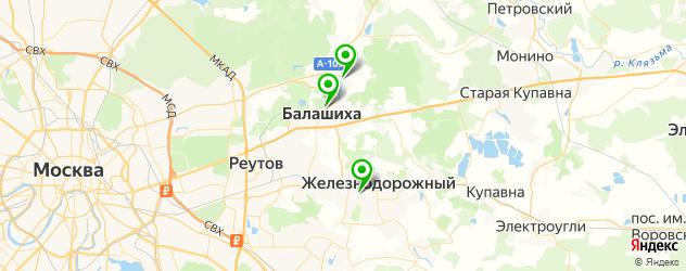 биопсия на карте Балашихи