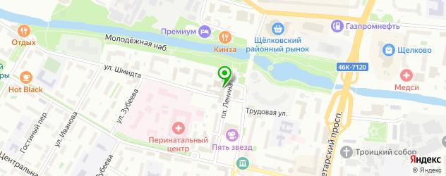 анализ ПСА на карте Щелково