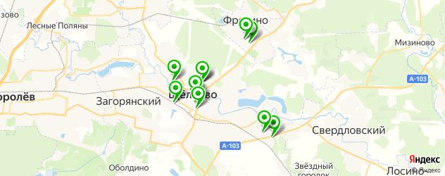 фотостудии на карте Щелково