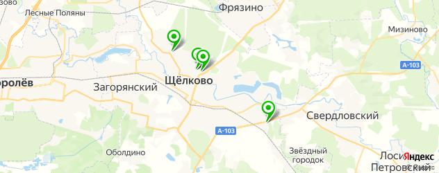 оцифровка видеокассет на карте Щелково