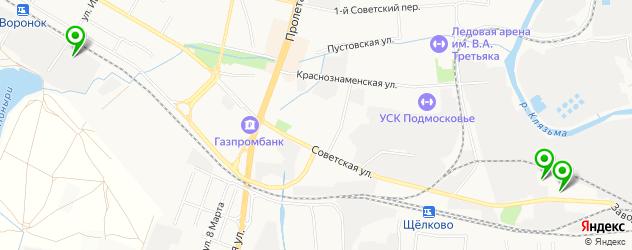 эвакуаторы на карте Щелково