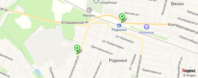АЗСЫ на карте Родников