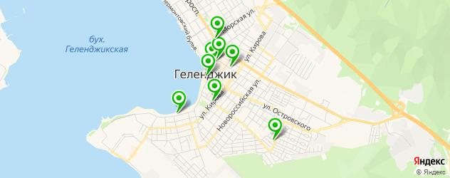 пирсинги салон на карте Геленджика