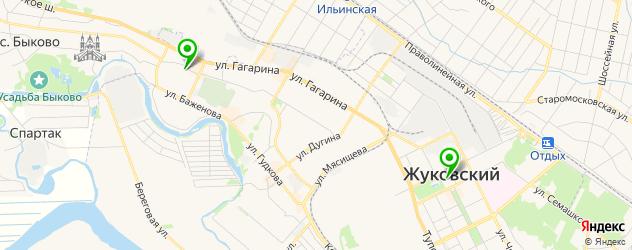 библиотеки на карте Жуковского