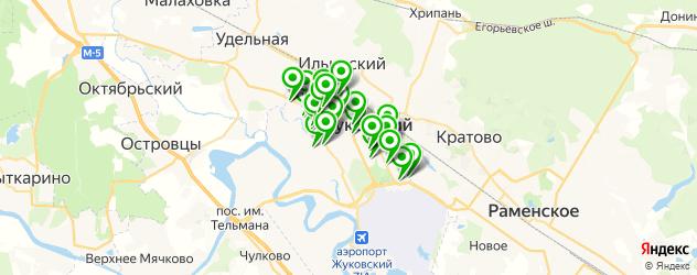 центры косметологии на карте Жуковского