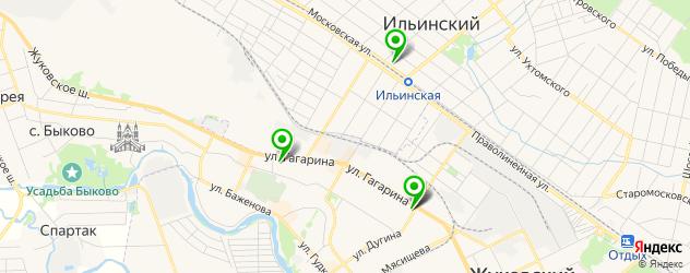 салоны бровей на карте Жуковского