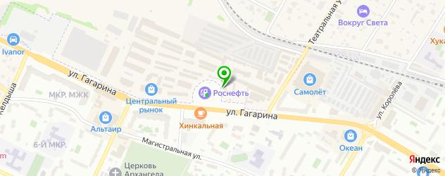 грузинские рестораны на карте Жуковского