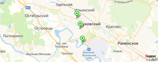 караоке на карте Жуковского