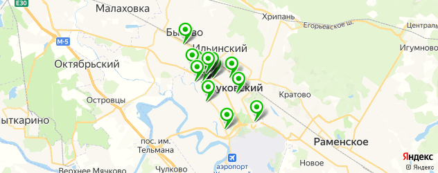 изготовление мебели на заказ на карте Жуковского