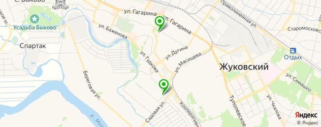 суши-бары на карте Жуковского