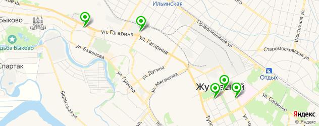 ортопедические магазины на карте Жуковского