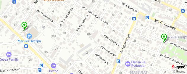 детские стоматологические поликлиники на карте Геленджика