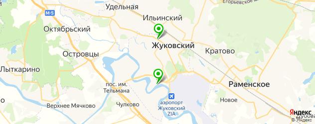 караоке-клубы на карте Жуковского