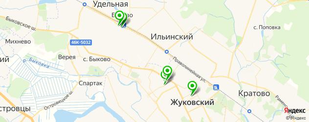 школы танцев на карте Жуковского
