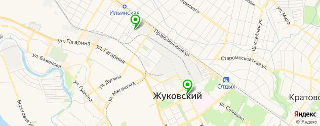 сервисные центры Самсунг на карте Жуковского
