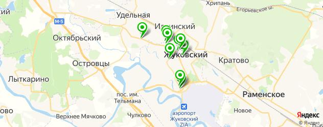 локальная покраска авто на карте Жуковского