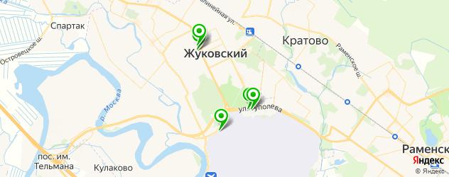 НИИ на карте Жуковского