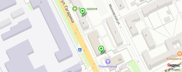 кадровые агентства на карте Жуковского